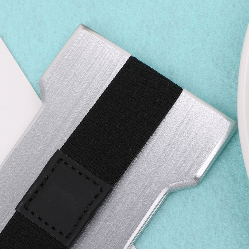 THINKTHENDO Men Women Aluminum Slim ID Credit Card Holder RFID Protector Wallet Card Case