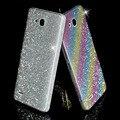 Full body glitter bling diamante etiqueta colorida para o caso huawei ascend p8 lite p7 P6 Honra Companheiro 8 7 2 S 7 7i 6 Mais 5X 4X Preto