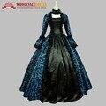 Высокое Качество женская Пром Готическая Викторианской Необычные Дворец Маскарадные Платья