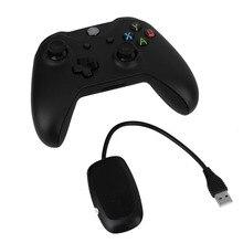 Черный 2.4 ГГц беспроводной игровой контроллер Joypad геймпад джойстик с контроллером приемник для Xbox One Microsoft портативных ПК