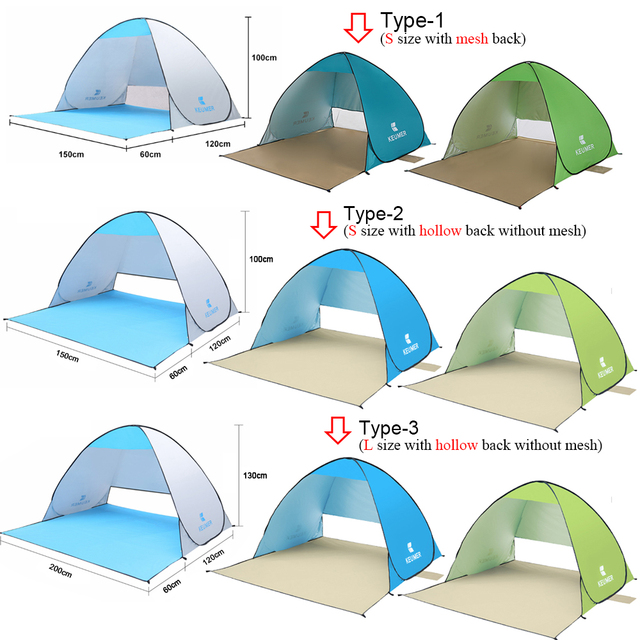Automatic Ultralight Camping Tent 1