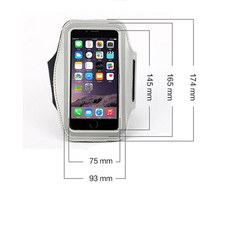 5.0-5.7 cal model telefonu sport arm band running torba case dla iphone 7 plus pokrywa dla samsung lg sony dla huawei meizu xiaomi? 4