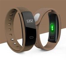 Smart Браслет Приборы для измерения артериального давления браслет монитор сердечного ритма Фитнес сна измерения Водонепроницаемый вызова для iOS и Android