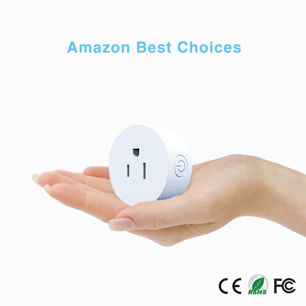 Choifoo Smart WiFi Remote Control AU Plug with Alexa Timing on/off The Power Samrt Google Home Electric Mini Socket