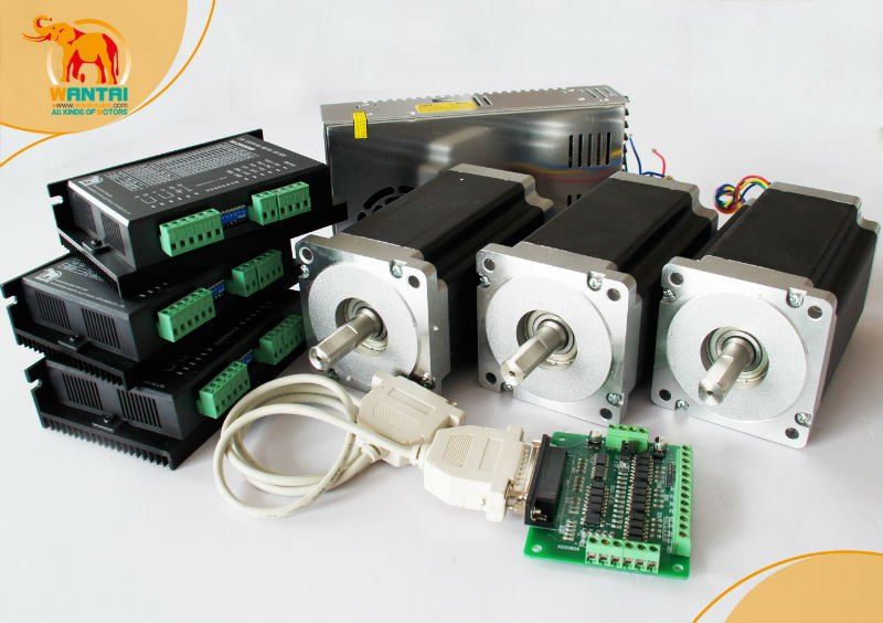 best selling cnc router kits 3axis nema 23 stepper motor