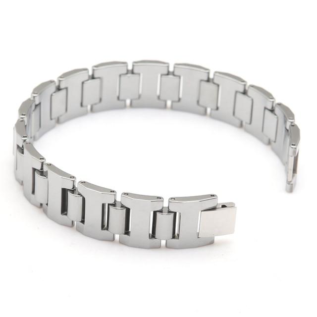 tungsten carbide Gentlemen's Bracelet Tungsten Bracelet Design Bracelet Length 21.5cm Width 1.6cm Thickness 3mm Weight 116g