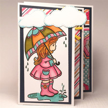 YaMinSanNiO Girl Cutting Dies Metal Scrapbooking Album Card Making Decor Paper Craft Stencil  2019 New Die