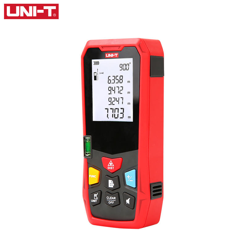 Building Laser 120M Rangefinder Measure 80M Distance Medidor UNI-T Digital Ruler Meter 150M 100M Trena Laser Electronic Tape