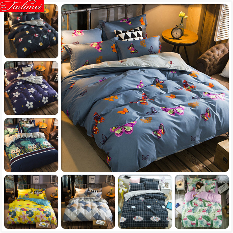 Flight Tracker 1.2m 1.5m 1.8m 2.0m Bed Sheet King Queen Double Twin Size Duvet Cover 3pcs 4pcs Bedding Set Cartoon Print Aole Cotton Bedlinens Power Source