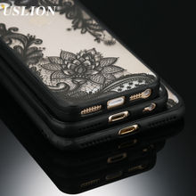 Sexy Retro Floral Phone Case For Apple iPhone 7 6 6s 5 5s SE Plus