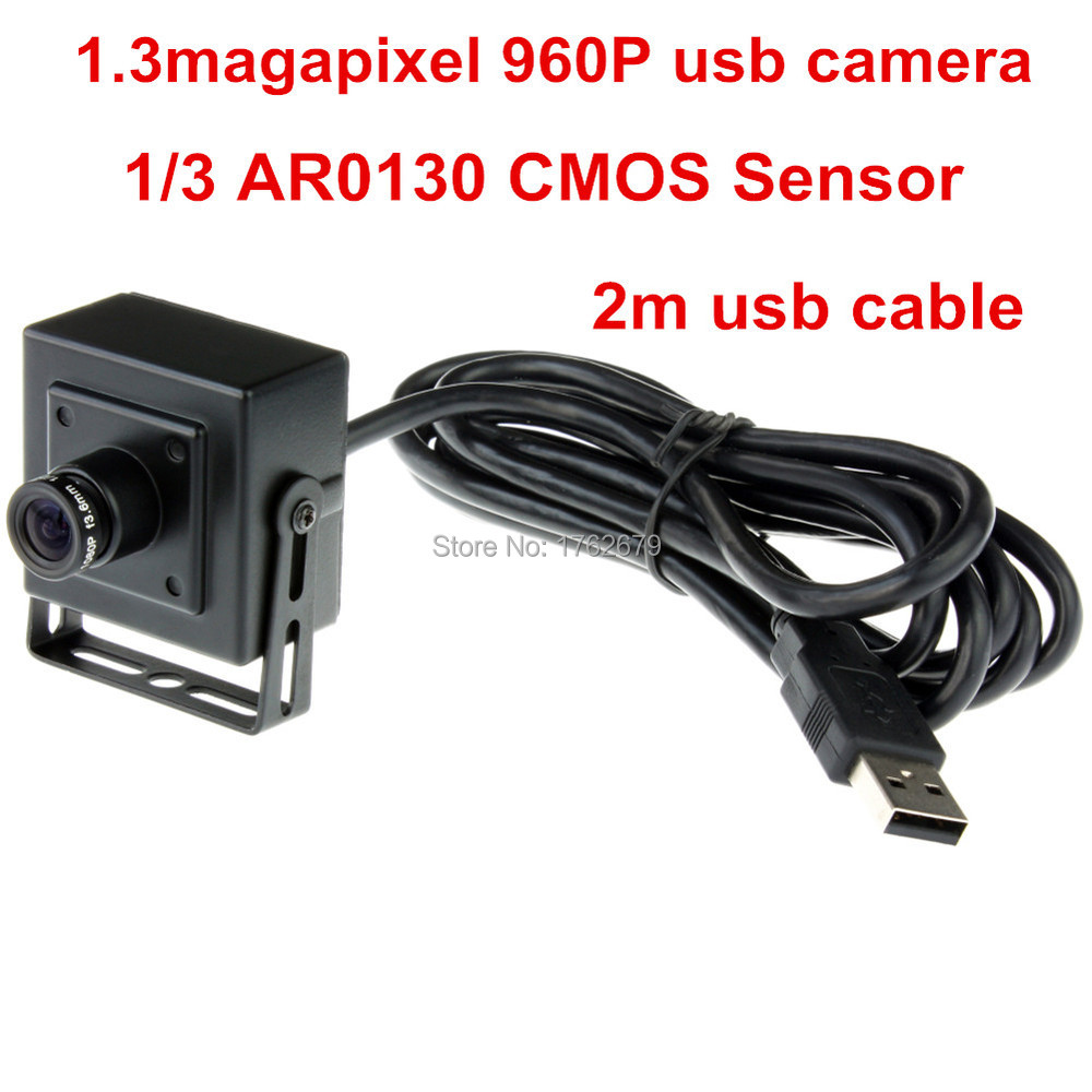 12mm lens 1 3MP 1280 960 low illumination endoscope hd aluminum mini case usb video font