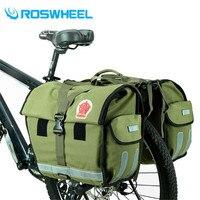 ROSWHEEL Новый велосипед сумки 50L MTB горный велосипед стойку сумка многофункциональный дорожный велосипед Паньер задние сиденья магистральные