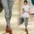 2017 Real Top Fashion Floral Mulheres Collants Mídias Pantis Mulher Teste Padrão Do Crânio Impresso Leggings Do Punk Feminino Meias Grossas
