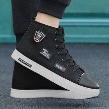 e269e50af 2018 Nova Best Selling Estudante Sapatas de Lona Meninos Hong Kong  Tendência Tendência Sapatos Versão Coreana