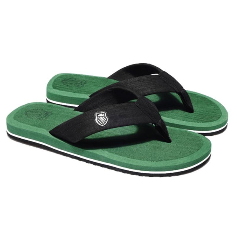 N ГОРЯЧАЯ распродажа Ванная комната Пляж кроссовки Мужская обувь пляжные сандалии Для мужчин плоская подошва резиновая стринги 5 цветов дос... ...