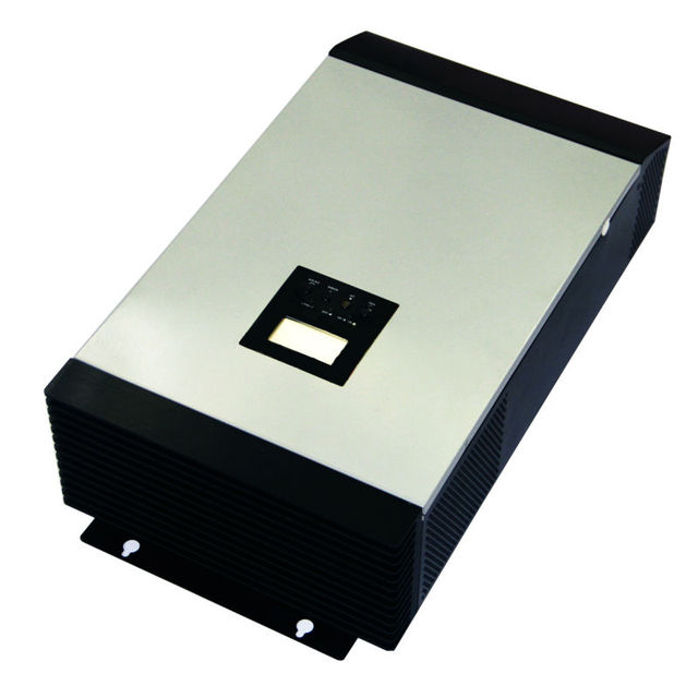 MAYLAR@ 12VDC 1000VA Peak Power 2000VA Pure Sine Wave Solar Hybrid Inverter Built-in 50A PWM Controller  LCD Display
