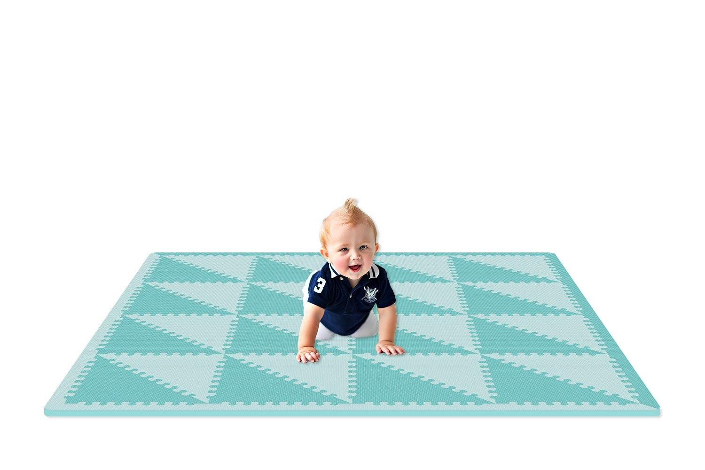 EVA triangle puzzle tapis bébé et enfants jouent tapis de sol Environme eva tapis de mousse noir et blanc pad sol pour bébé jeux tapis de jeu