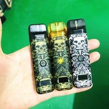 Electronic Cigarette Authentic Marvec MV vape pen 10W 400mAh Pod System Starter Kit 1.5 Ohm/2ml Rechargeable CBD POD цена