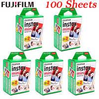 10 - 100 sheets Fuji Fujifilm instax mini 9 8 films white Edge films for instant mini 8 9 7s 25 50s 9 90 SP-1 Camera photo Paper