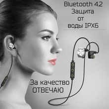 mifo U6 Wireless Bluetooth Headset Waterproof Sport Headphones Noise Cancelling Running Earbuds Bluetooth Earphone for iphone