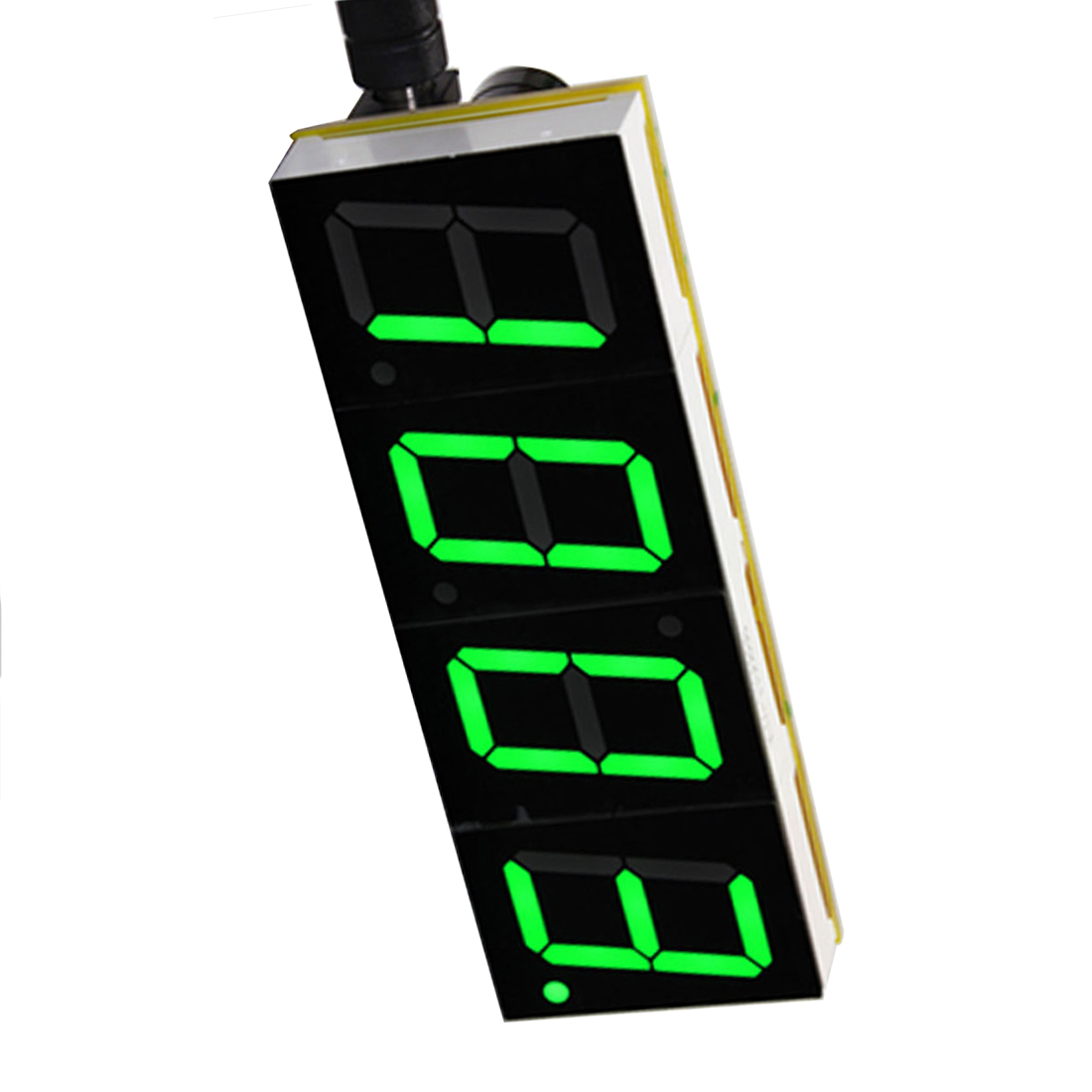 Green Digital LED Electronic Microcontroller Clock Screen Display Time DIY