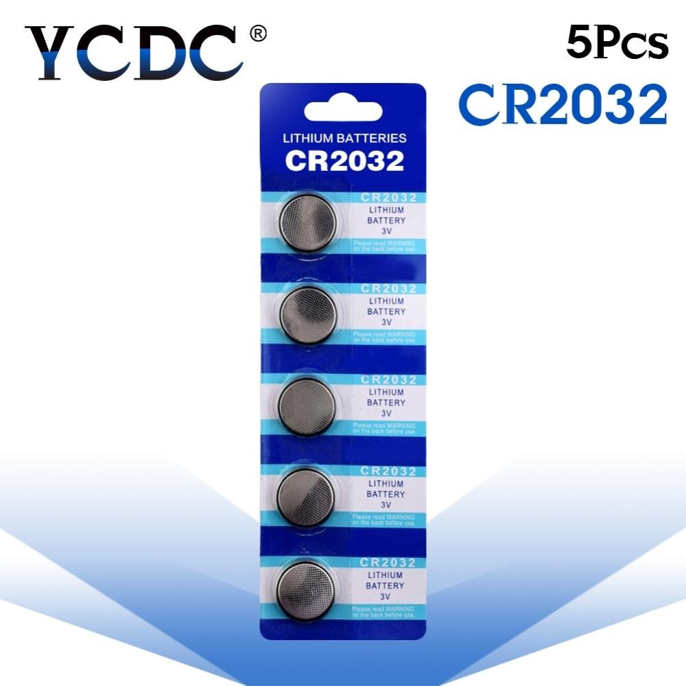 Cheap Fast shipping Fast Selling 5 PCS CR2032 DL2032 CR 2032 KCR2032 5004LC ECR2032 Good Quality