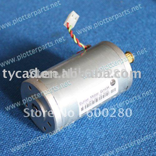 Q5669-60674 Carriage (scan-axis) motor assembly HP Designjet T610 T620 T1100 T1120 Z2100 Z3100 Z3200 Original used original new designjet t610 t770 t790 t1100 z3100 z2100 z3200 starwheel motor assembly q6718 67017 q5669 60697 plotter parts