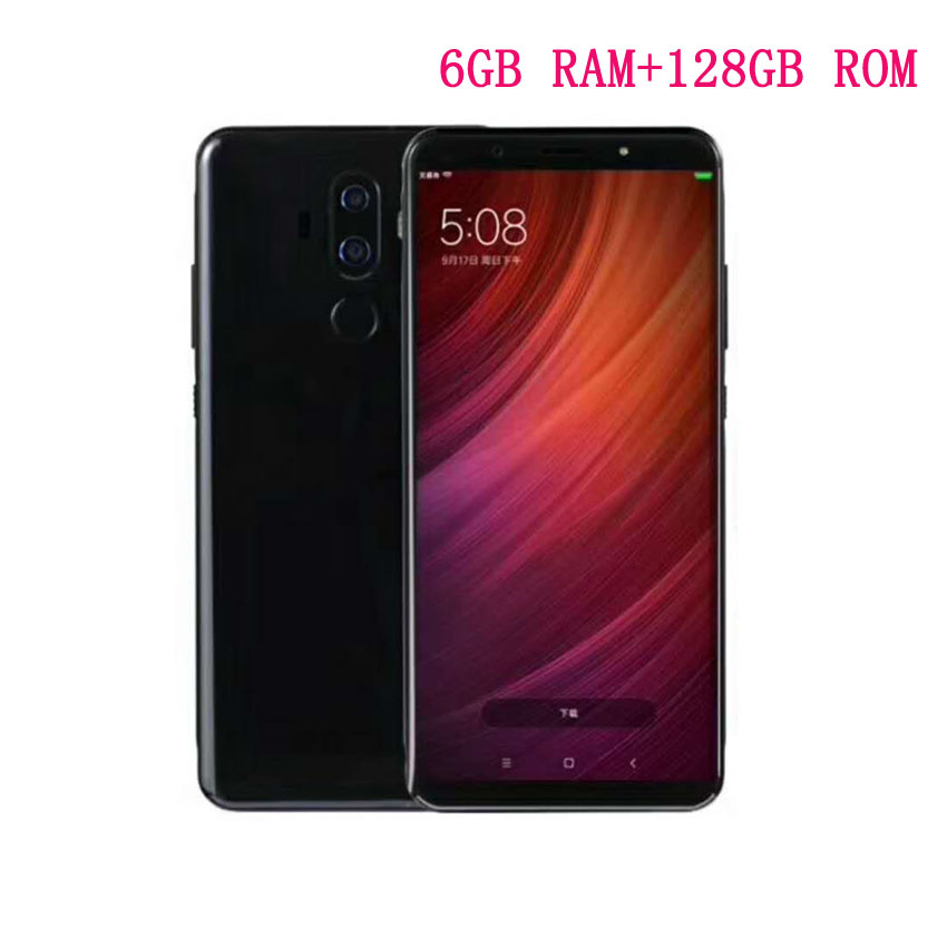 Pas cher Chine D'origine Mobile Smartphone 6 2160x1080 6 gb RAM 128 gb ROM NFC 20MP trois Caméra mince Téléphone Android 8.0 Téléphone Portable GPS