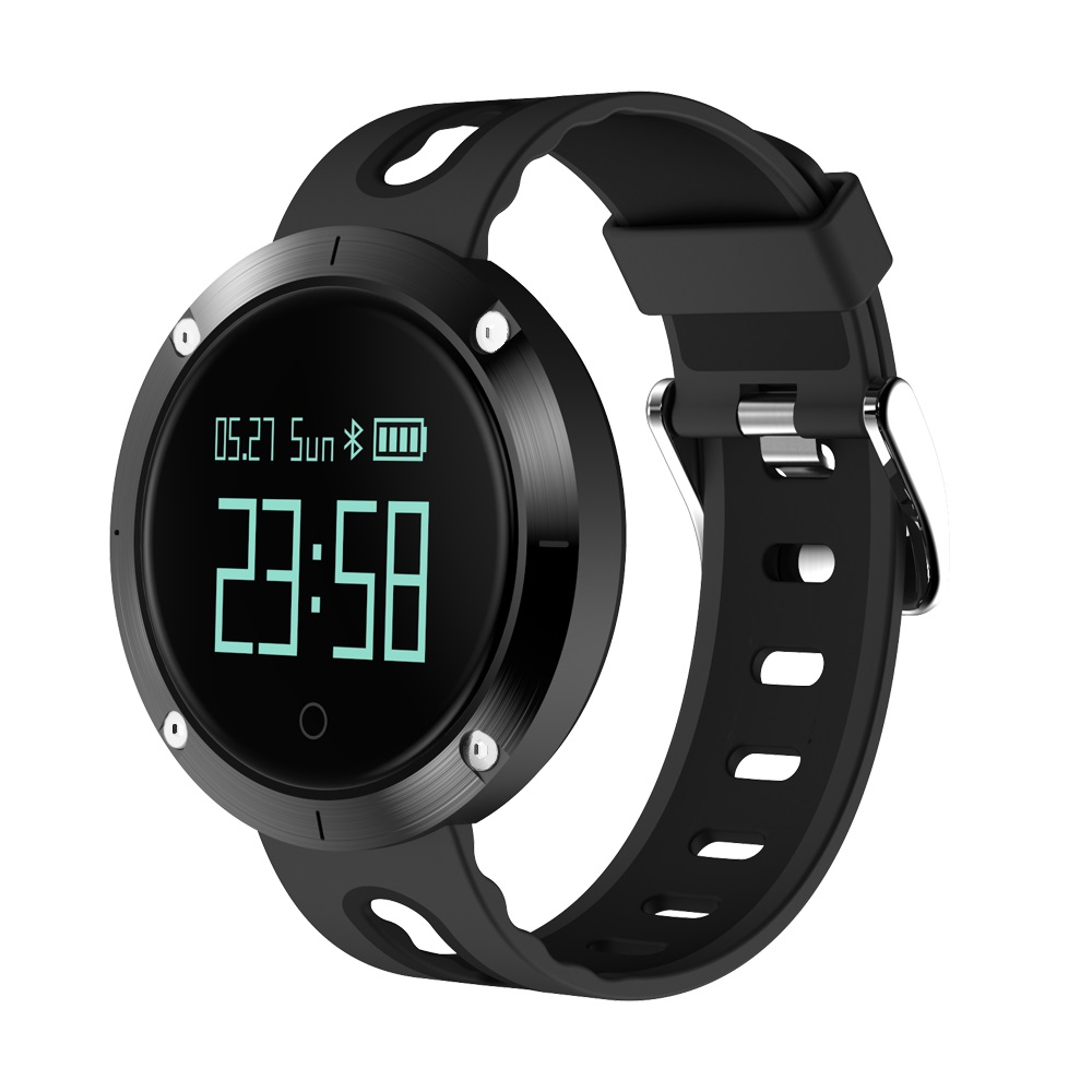 IP68 Waterproof Smartband DM58 Blood pressure monitor Pedometer Bluetooth Sport Heart Rate Smart Bracelet support Android