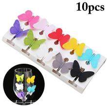 Wine Glass Drinking-Buddy Silicone Marker Charms Identification-Cup for Bar Party Labels-Tag-Signs