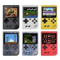 Игровая консоль для видео 8 бит ретро мини карманный портативный игровой плеер встроенный 168 классические игры лучший подарок для ребенка Н...