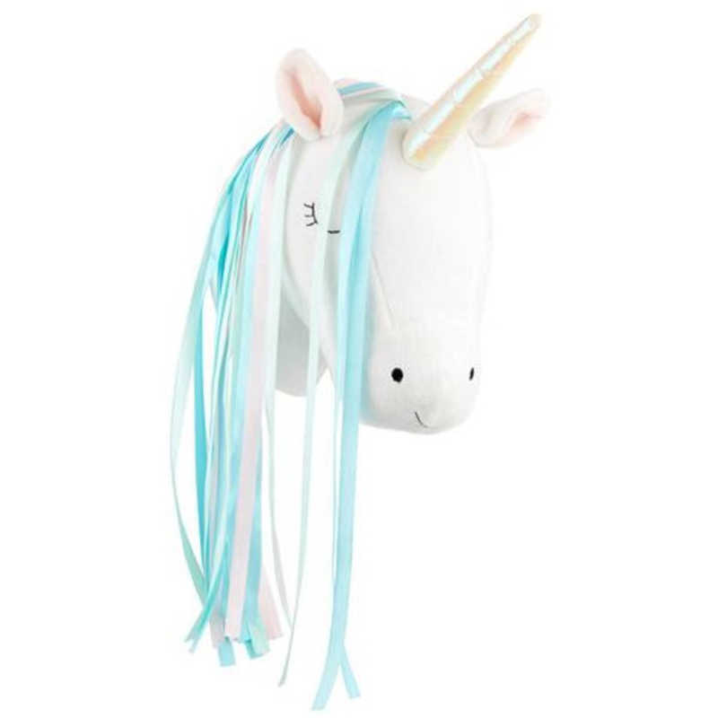 3D Animal Head Decor Wall Kids Room Decoration Hanging Stuffed Animals Unicorn Plush Toy Doll Gifts Children Bedroom Accessories