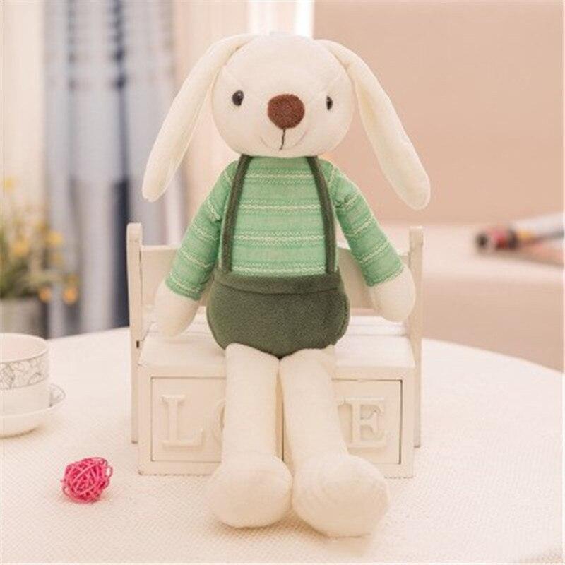 Stuffed & plush animals popular toys sugar candy rabbit plush toy super cute long-eared rabbit doll cute fairytale birthday gift