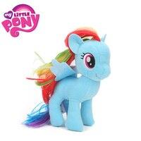 2018 17 cm My Little Pony Brinquedos de Pelúcia a Amizade é Mágica Pico Applejack Fluttershy Twilight Sparkle Rainbow Dash Raridade Bonecas