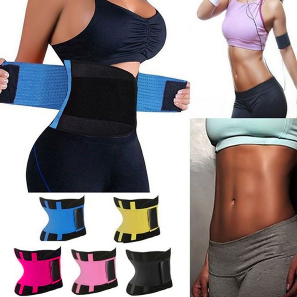 Comfortable Women Body Shaper Slimming Wraps Belt Sport Ladies Waist Trainer Cincher Control Burning Body Tummy Slim Belt