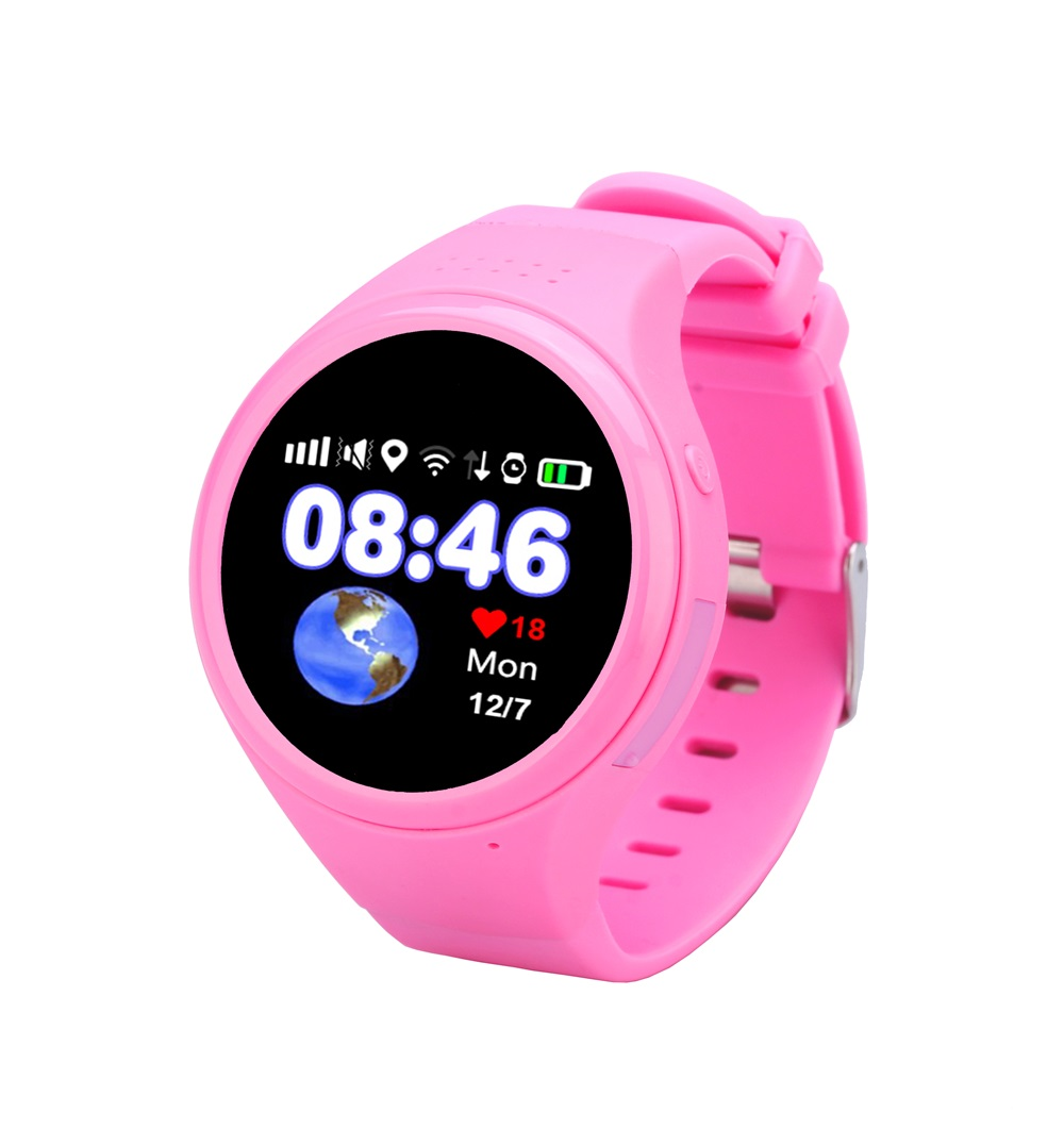1pcs Super GPS tracking watch for Children old man T88 Smart watch SOS Emergency 1.22 touch screen Anti-lost WIFI LBS AGPS