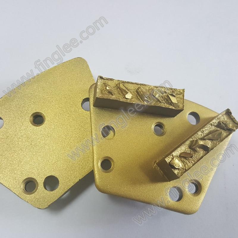 FINGLEE PCD нить установки, M4, 2 агрессивный жертвенного Алмазный сегмент, смола удаления, пол скребки