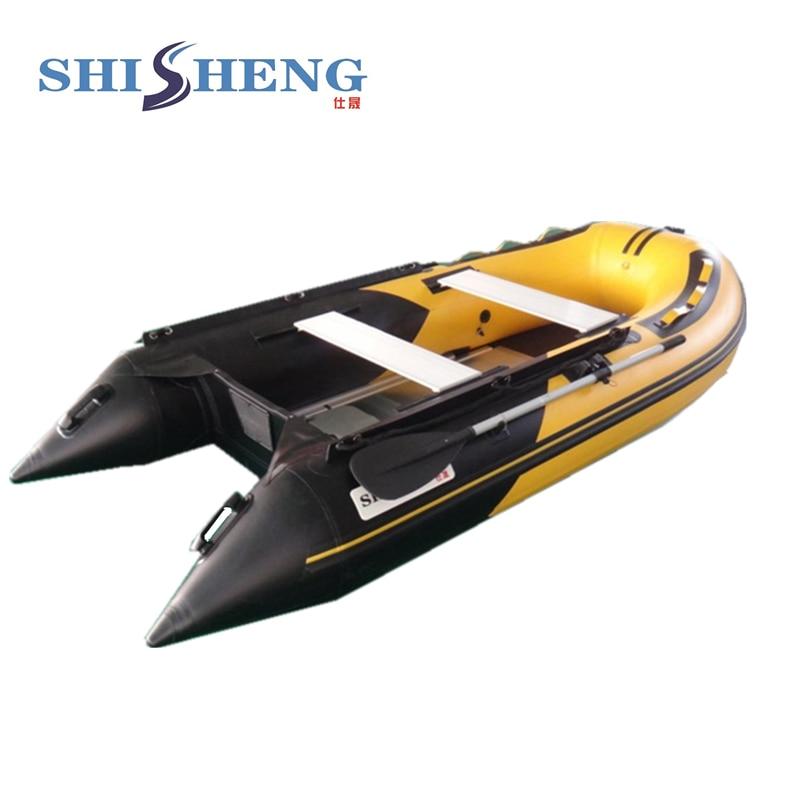 Parduodamas didelės spartos pripučiamas nešiojamasis kateris - Vandens sportas - Nuotrauka 2