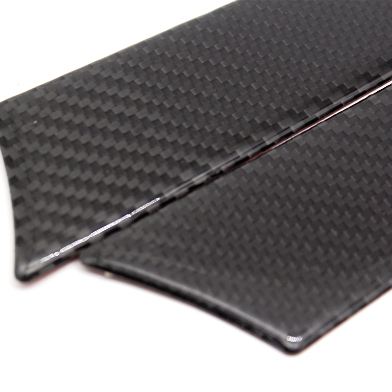Image 4 - For Audi A4 B8 A5 2009 2010 2011 2012 2013 2014 2015 2016 Carbon Fiber 4pcs Window Door Panel Decor Cover Sticker Trim-in Interior Mouldings from Automobiles & Motorcycles