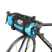 ROSWHEEL 7L велосипедная сумка полный водонепроницаемый руль велосипеда передняя сумка MTB Дорожная сумка для велосипеда на передней раме корзина для трубок