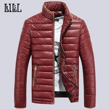 Men's Winter Warm Cotton-Padded Jackets Men Fashion Down Coat Man Cotton Clothes Windproof Waterproof Wadded Jacket 5XL,UMA285
