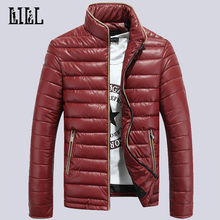 Men s Winter Warm Cotton Padded Jackets Men Fashion Down Coat Man Cotton Clothes Windproof Waterproof