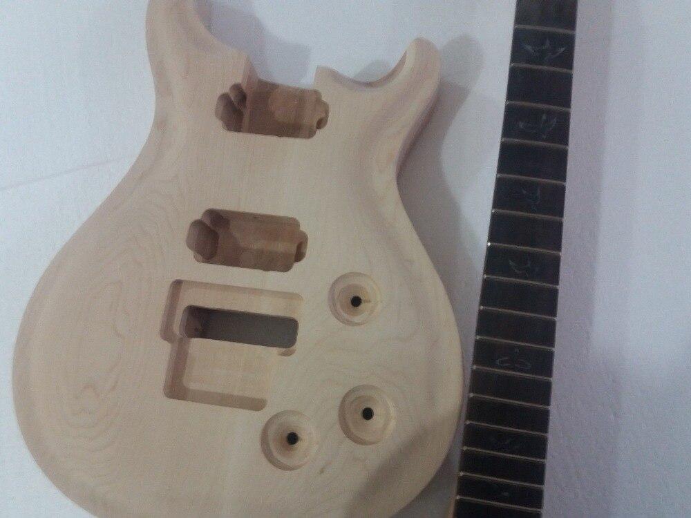 Guitare non finie 7 cordes cou et corps 24 Fretboard en palissandre