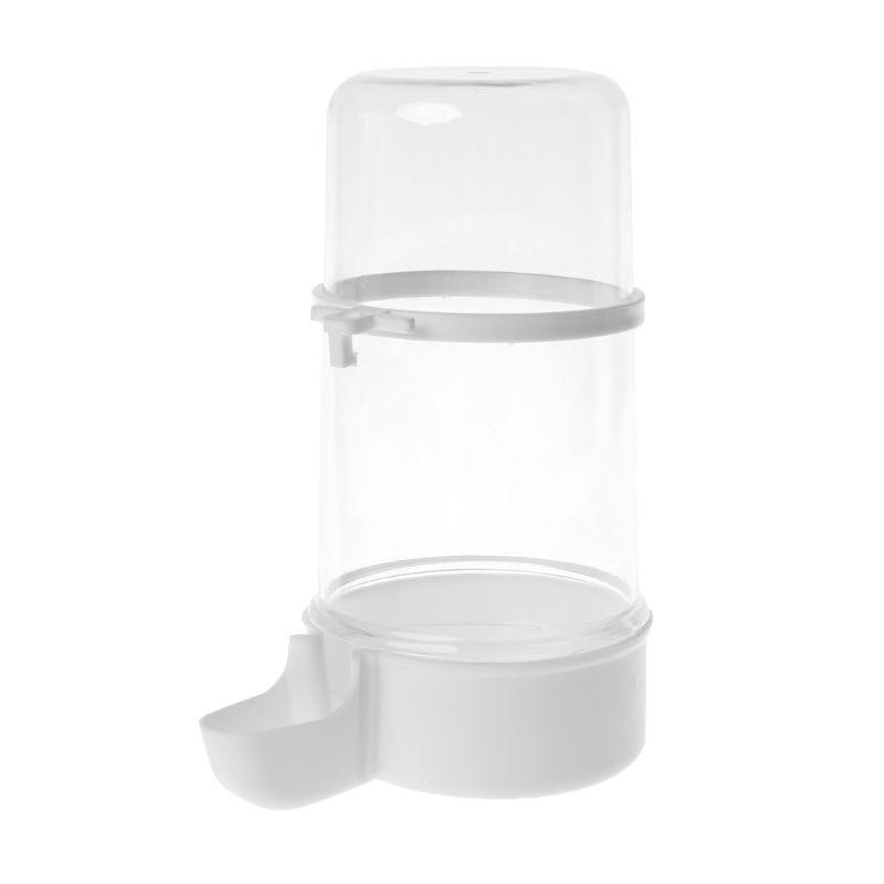 Automatic Bird Feeder Hamster Parrot Dispenser Water Feeding Drinking Food Bowl l29k
