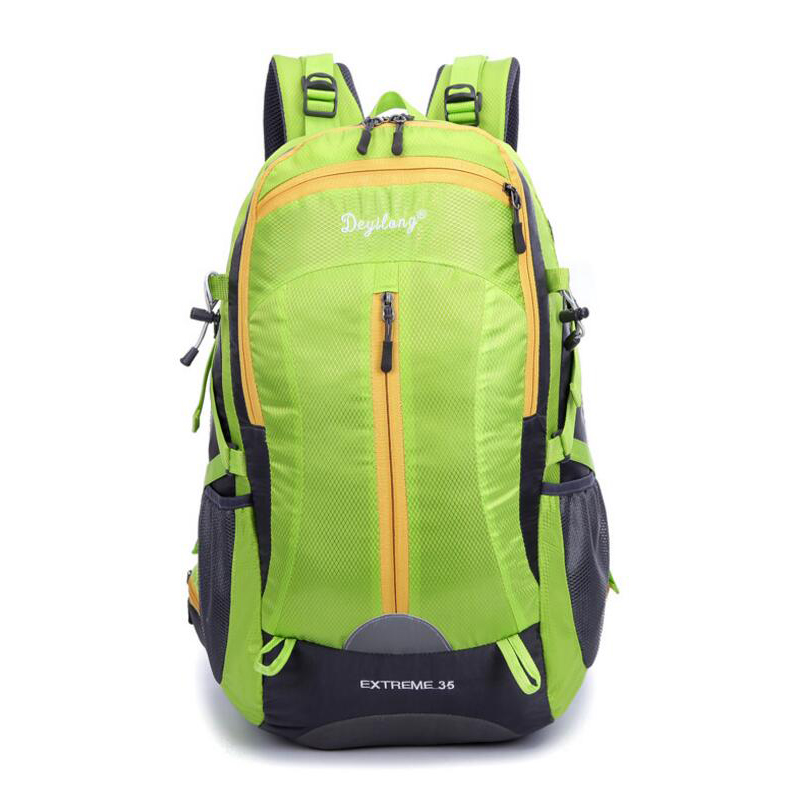 где купить Outdoor Backpack 35L Outdoor Water Resistant Sport Backpack Hiking Bag Camping Travel Pack Mountaineer Climbing Sightseeing Hike по лучшей цене