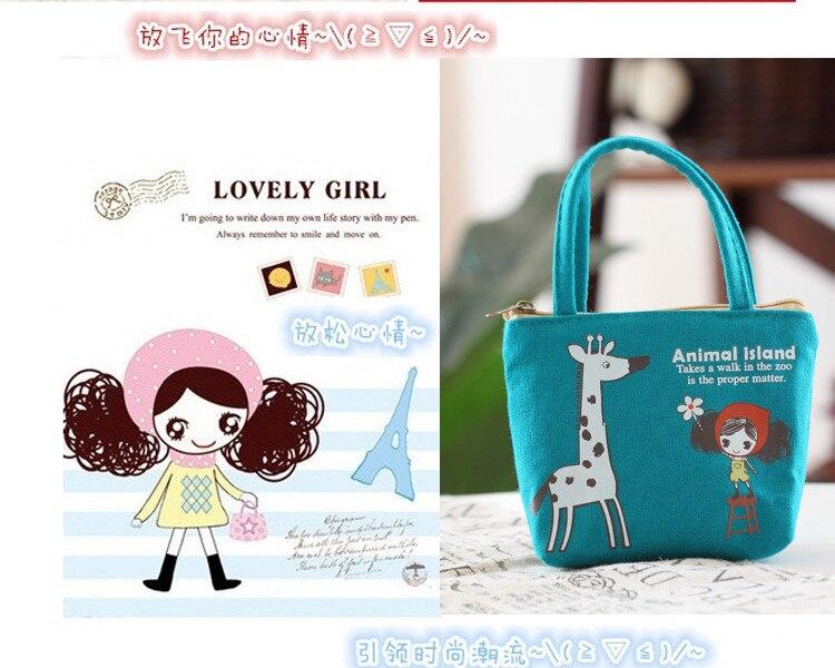 Hot Korean Soft Floral Rose cute women Children Bag wallet clutch Coin Change Key Purse Gift Handbag casual
