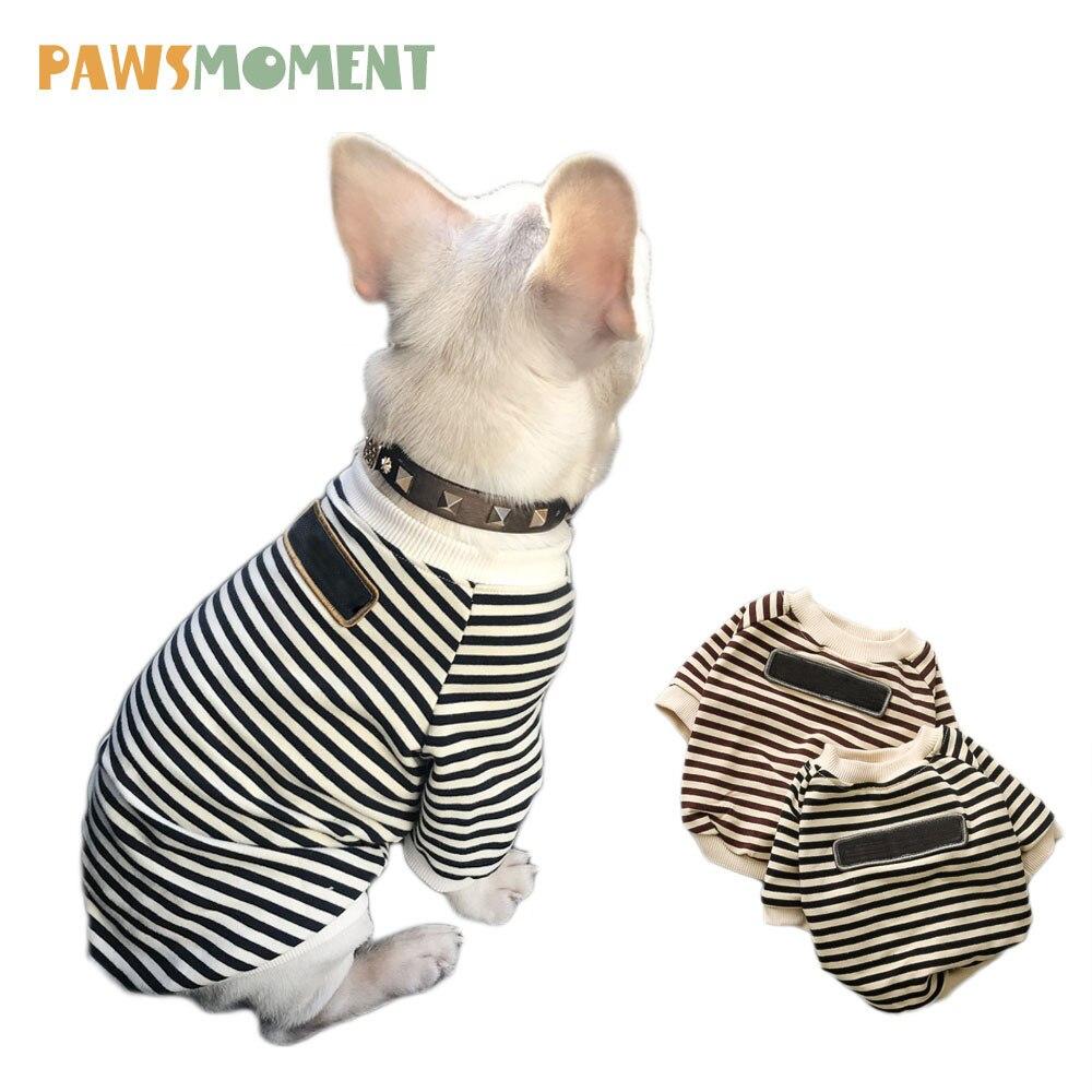 ღ ღOcio ropa para perros pequeños Bulldog francés capa Hoodies del ...