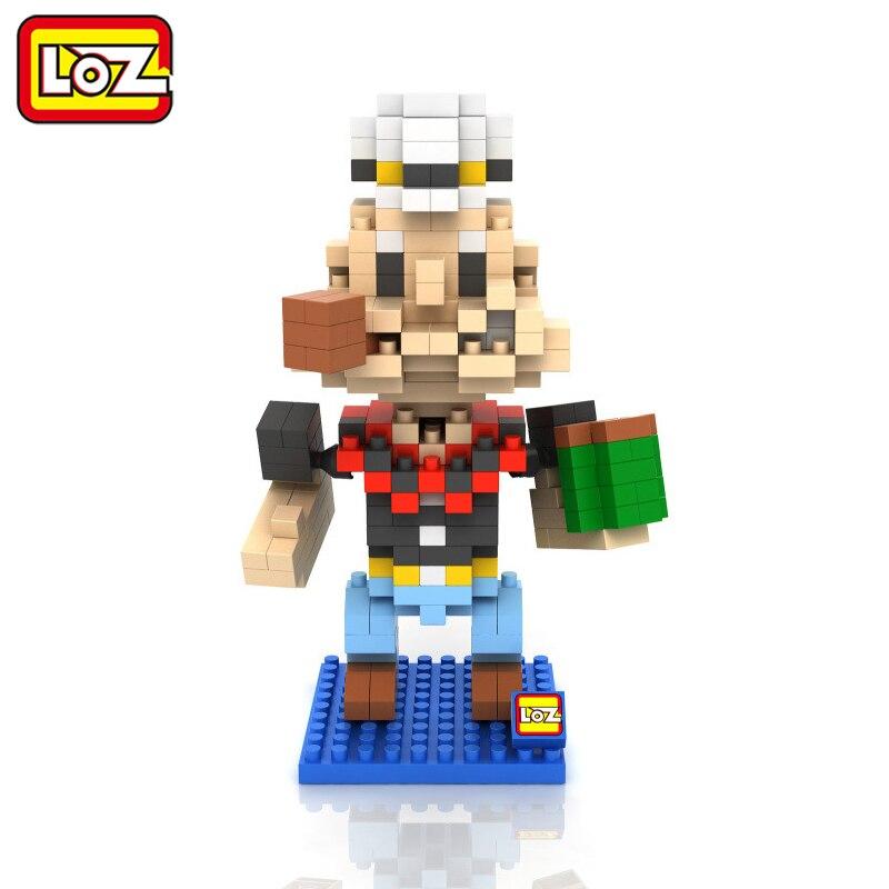 LOZ Popeye The Sailor Figures Assembly Model Toys Child Christmas gift 14+ Building Blocks