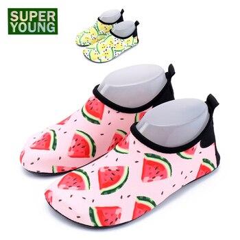 c6e38c461 Zapatos Aqua hombres verano playa zapatillas mujer agua suave zapatos  transpirables descalzos zapatos de natación sandalias de buceo zapatillas de  deporte