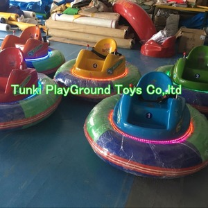 Amusement park kids ride UFO b